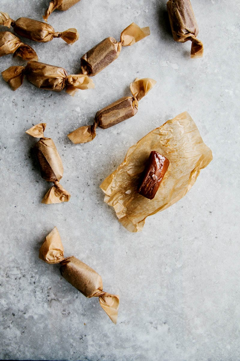 Salted Caramels (Vegan + Paleo) - Wallflower Kitchen