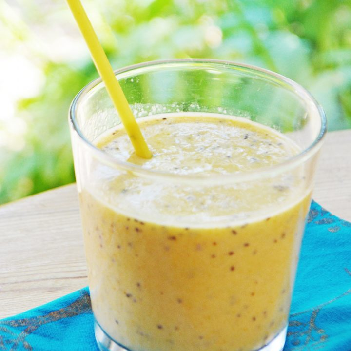 Mango & Ginger Smoothie (banana-free)