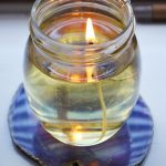 DIY Olive Oil Candle Lamp