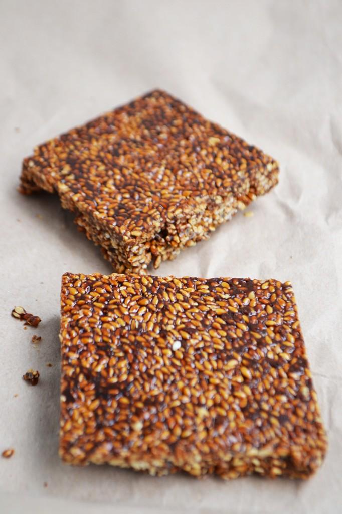 Vegan Sesame Seed Brittle