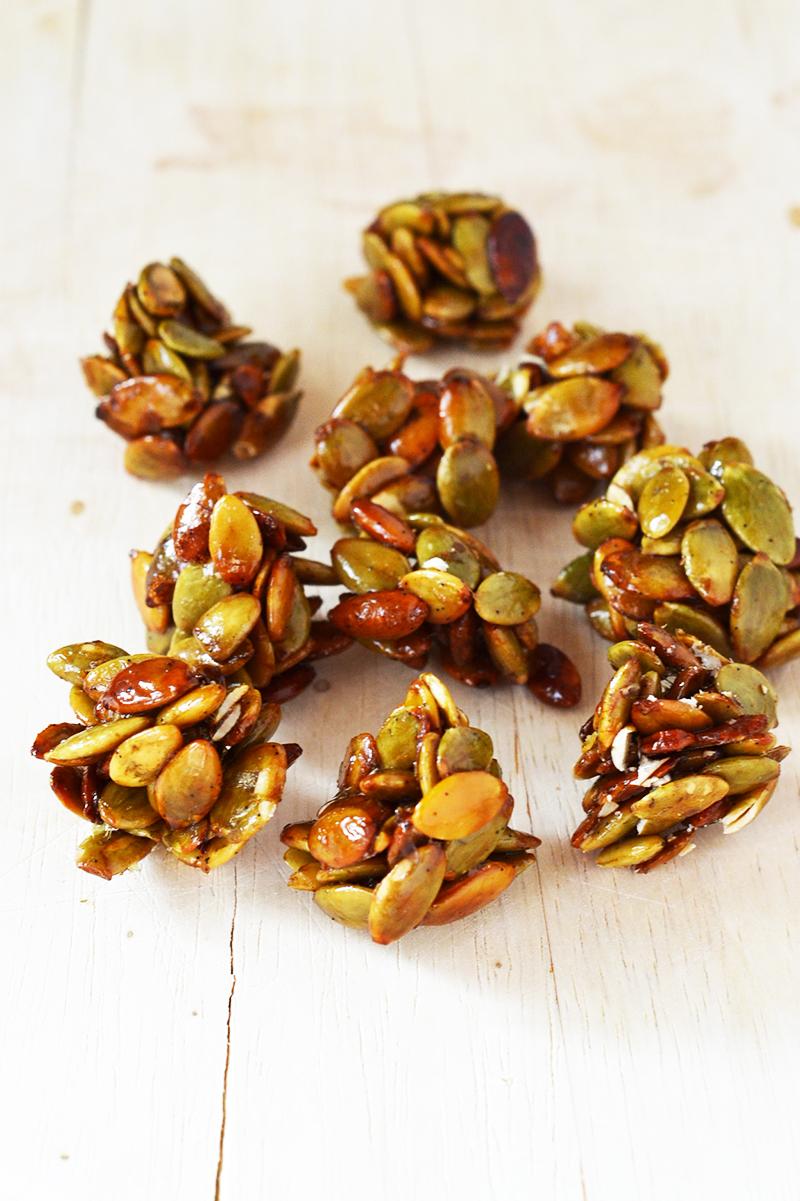 Vanilla Pumpkin Seed Clusters (Vegan + Paleo)