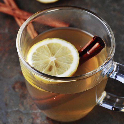 Maple Rum Hot Toddy