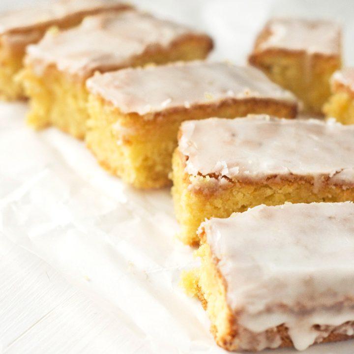 Lemon Olive Oil Cake {Gluten-free, Dairy-free}
