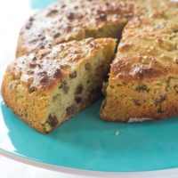 Cinnamon Chai Fruit Cake