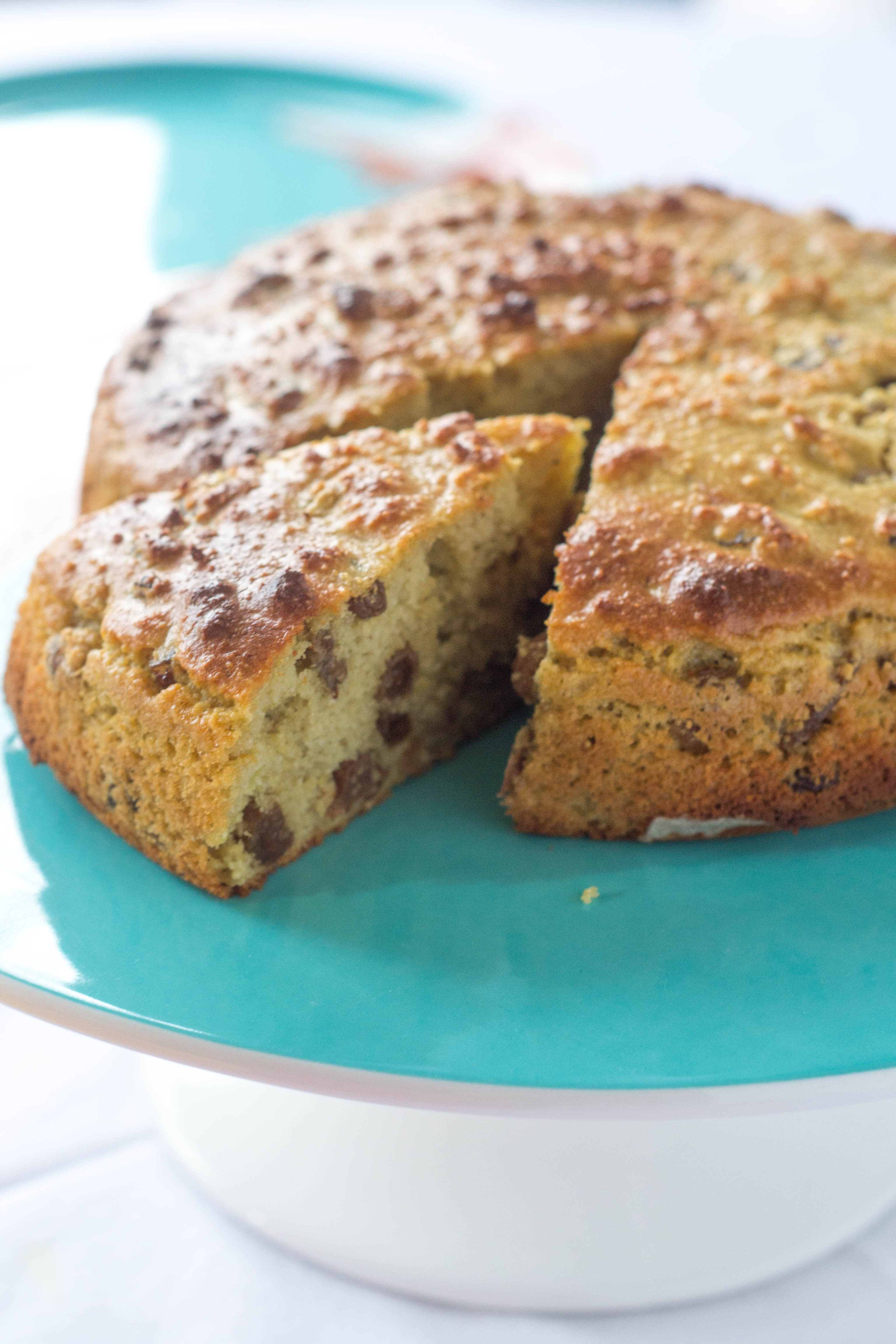 Cake that's healthy enough for breakfast! Cinnamon Chai Fruit Cake ...