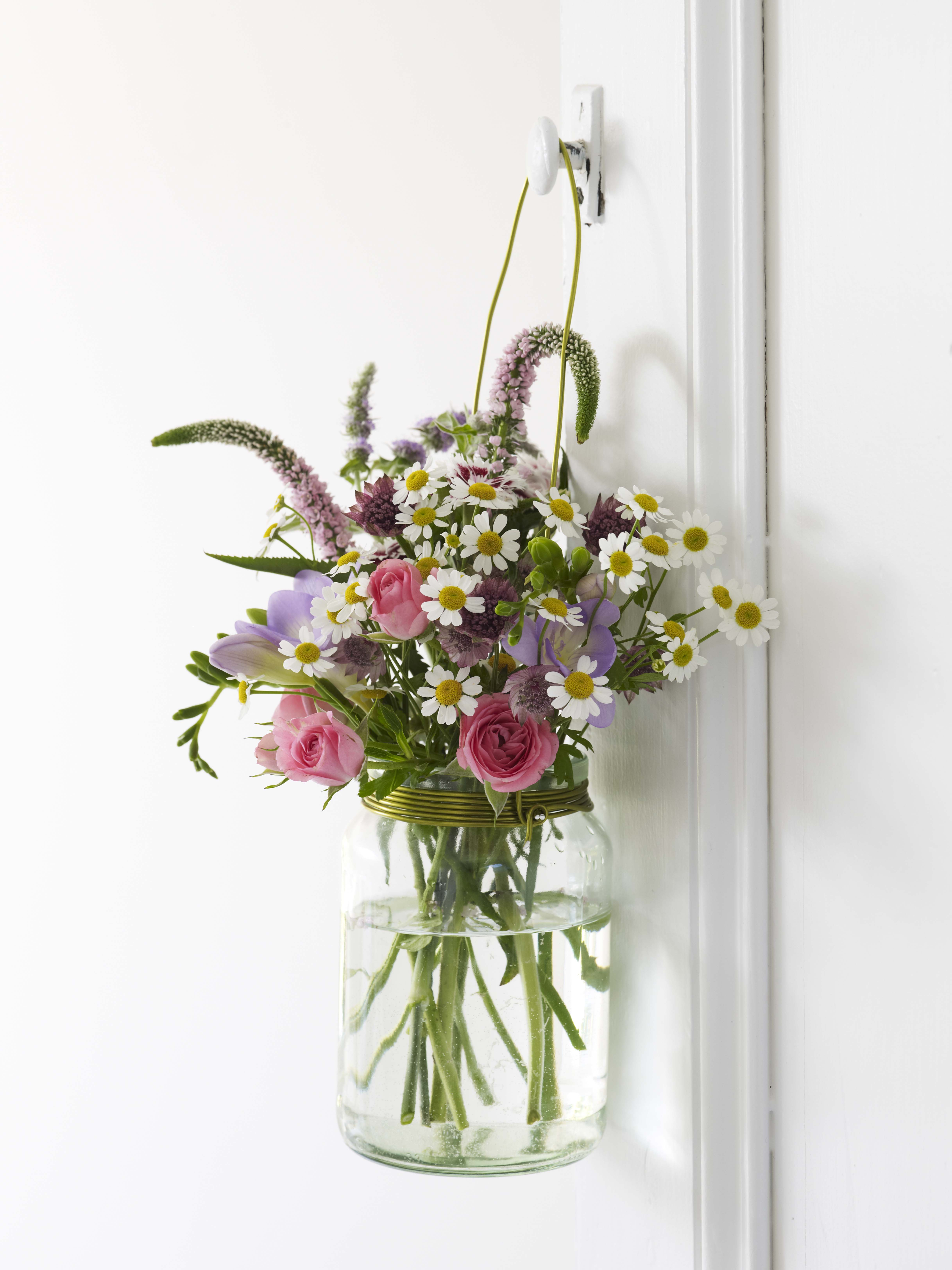 Simple Flower Arranging Review Giveaway Wallflower