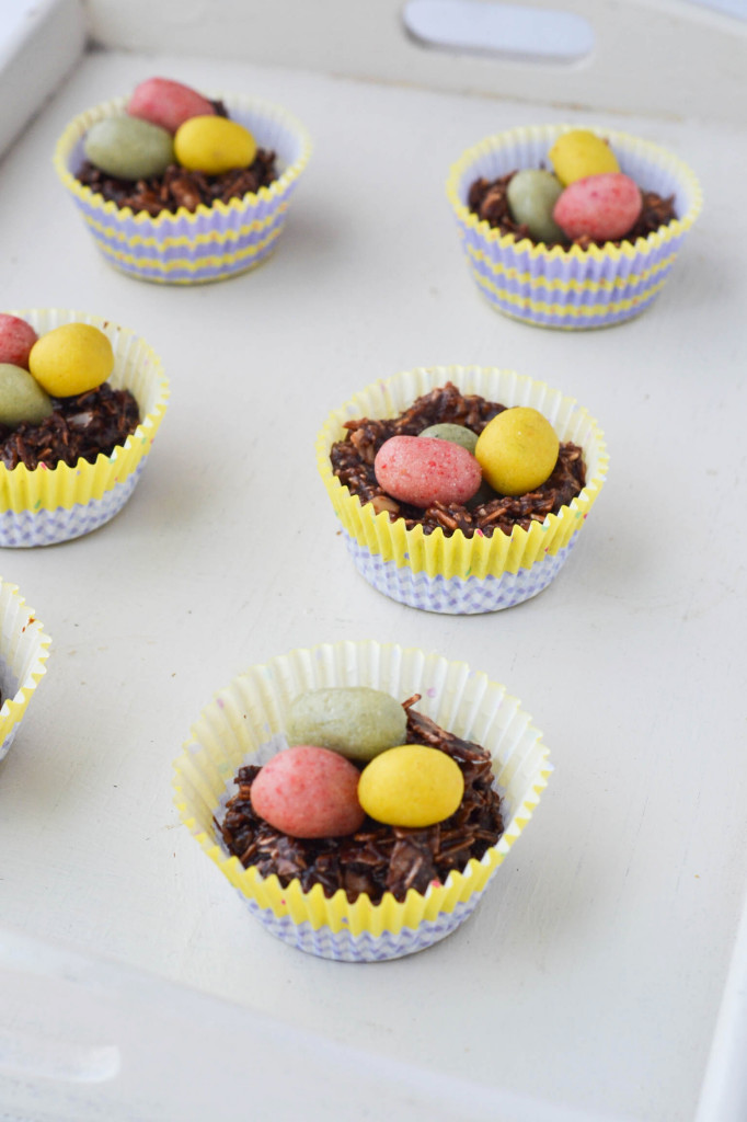 Chocolate Easter Egg Nests {Raw, Vegan & Gluten-free}