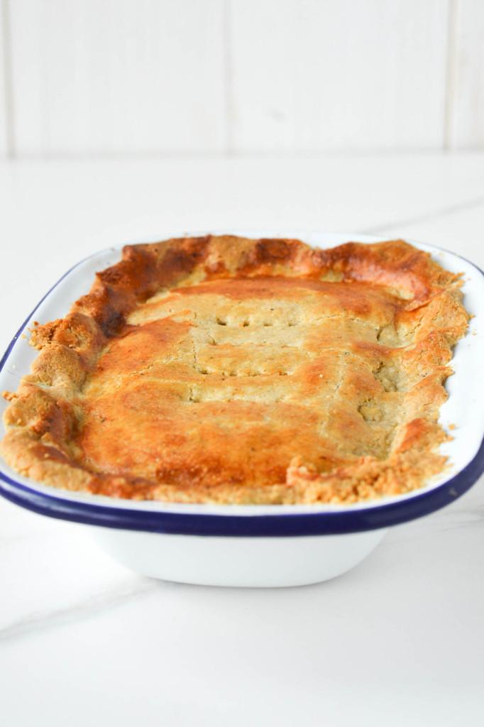 Cheesy Lentil Pie {Vegan, Grain-free}