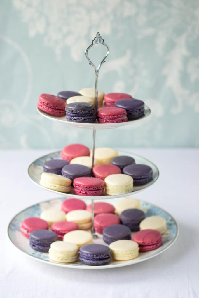 Lavender, chamomile & Rose Macarons + Macaron making tips!
