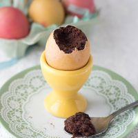 Chocolate Surprise Egg Cup Cakes