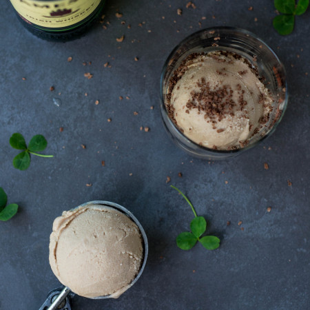 Vegan Baileys Ice Cream