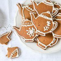 Vegan Chai Gingerbread Biscuits {GF}