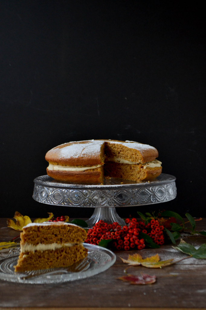 Vegan Butternut Squash & Orange Cake