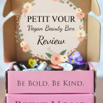 Petit Vour Vegan Beauty Box Review