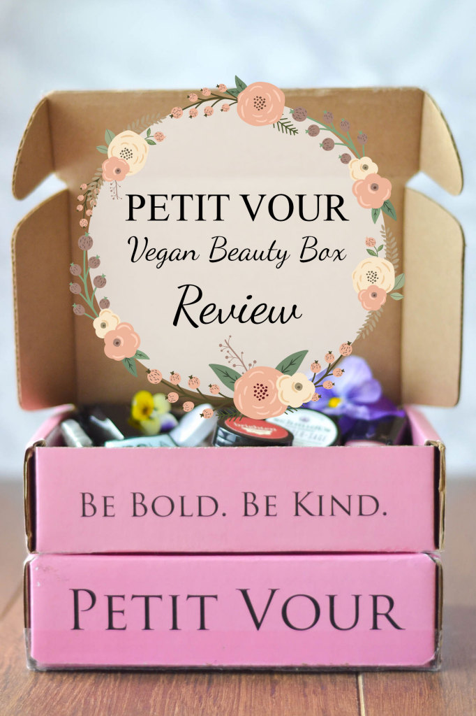 petit vour vegan beauty box review wallflower girl. Black Bedroom Furniture Sets. Home Design Ideas
