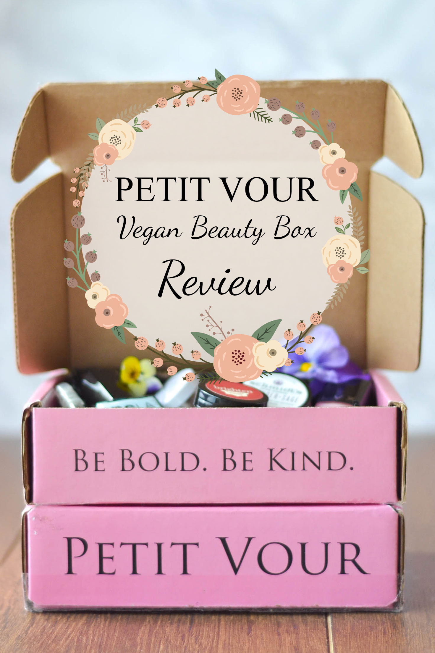petit vour vegan beauty box review wallflower kitchen. Black Bedroom Furniture Sets. Home Design Ideas