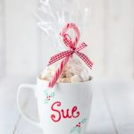 DIY Vegan Hot Cocoa Mix & Personalized Mug