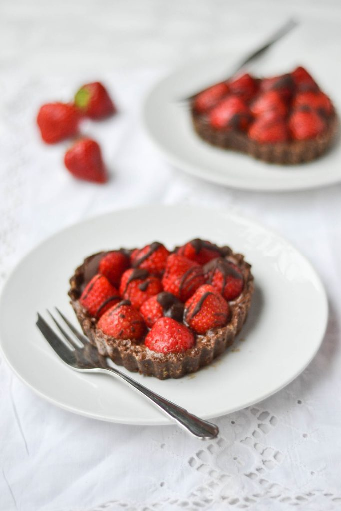 Nakd Raw Chocolate Strawberry Tarts