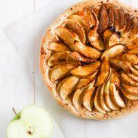Easy Vegan French Apple Tart