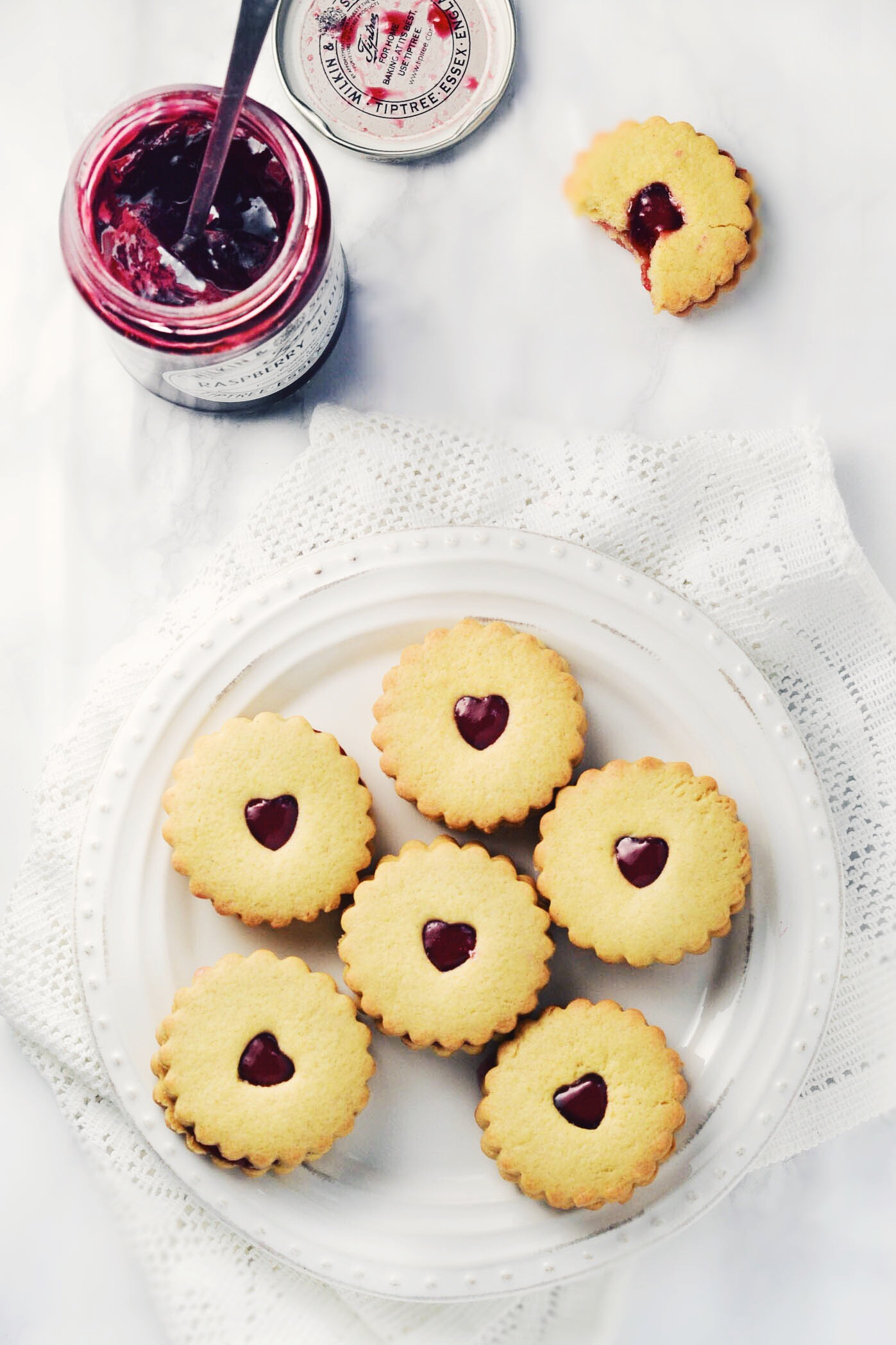 Vegan Jammy Dodgers ♥