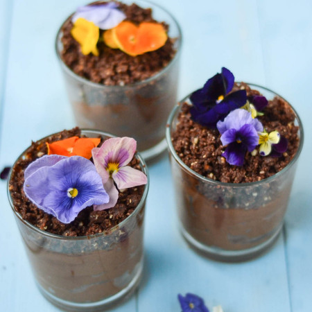Nākd Chocolate Mousse Pots #vegan #glutenfree