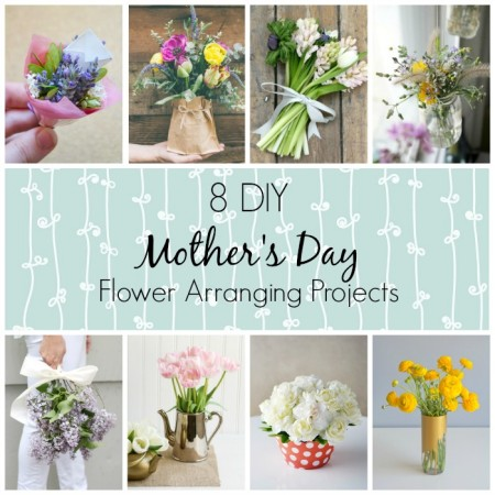 8 DIY Mother's Day Flower Arrangements | WallflowerGirl.co.uk #DIY #MothersDay