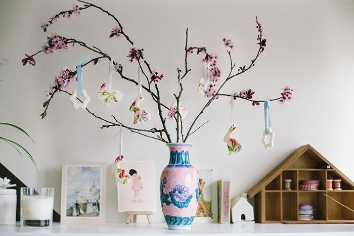 DIY Easter Tree | Wallflower Girl