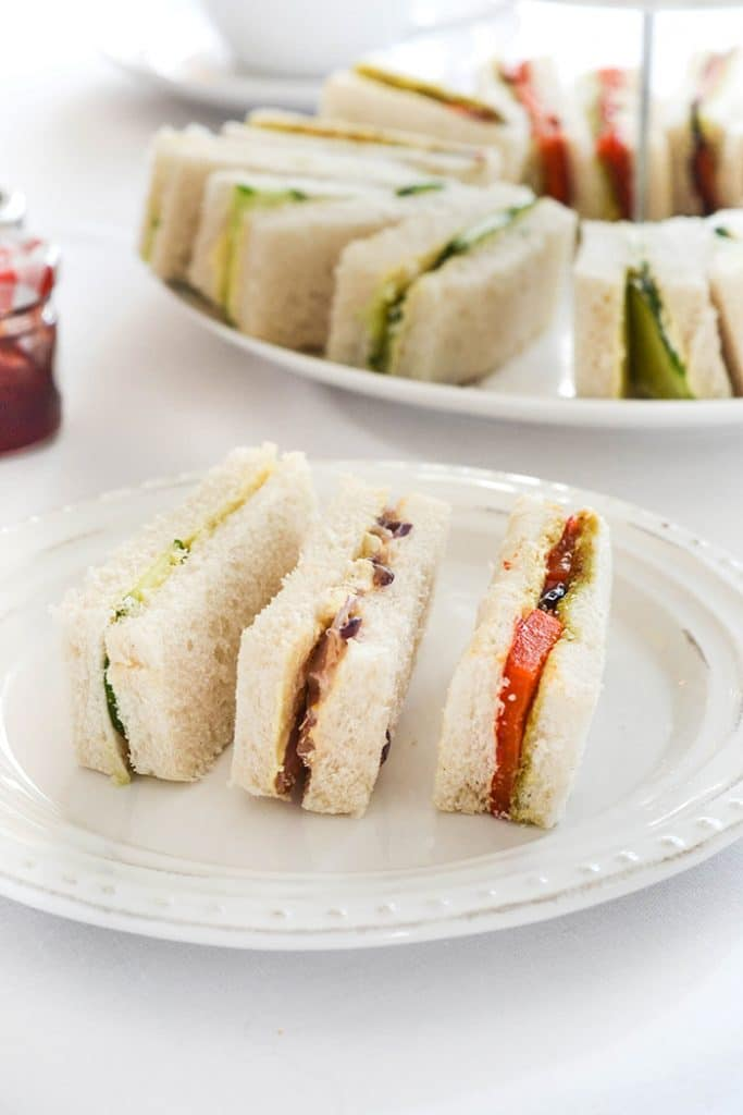 Vegan Tea Finger Sandwiches | WallflowerGirl.co.uk #vegan
