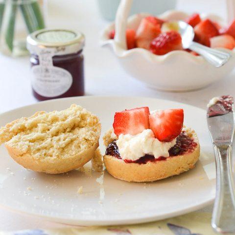 Vegan Scones with Clotted Cream   WallflowerGirl.co.uk #vegan