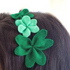 DIY Shamrock Headband