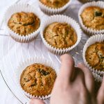 Carrot Cake Breakfast Muffins | Wallflower Girl #vegan #wheatfree