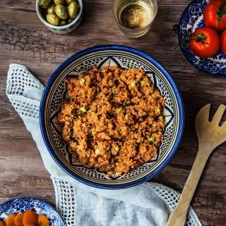 Gluten-free Kisir - Spicy Turkish Salad #vegan