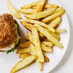 Fat-free Fries #vegan #hclf