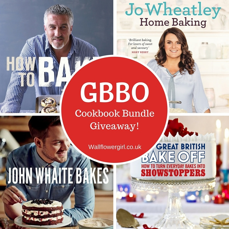 GBBO Cookbook bundle giveaway!
