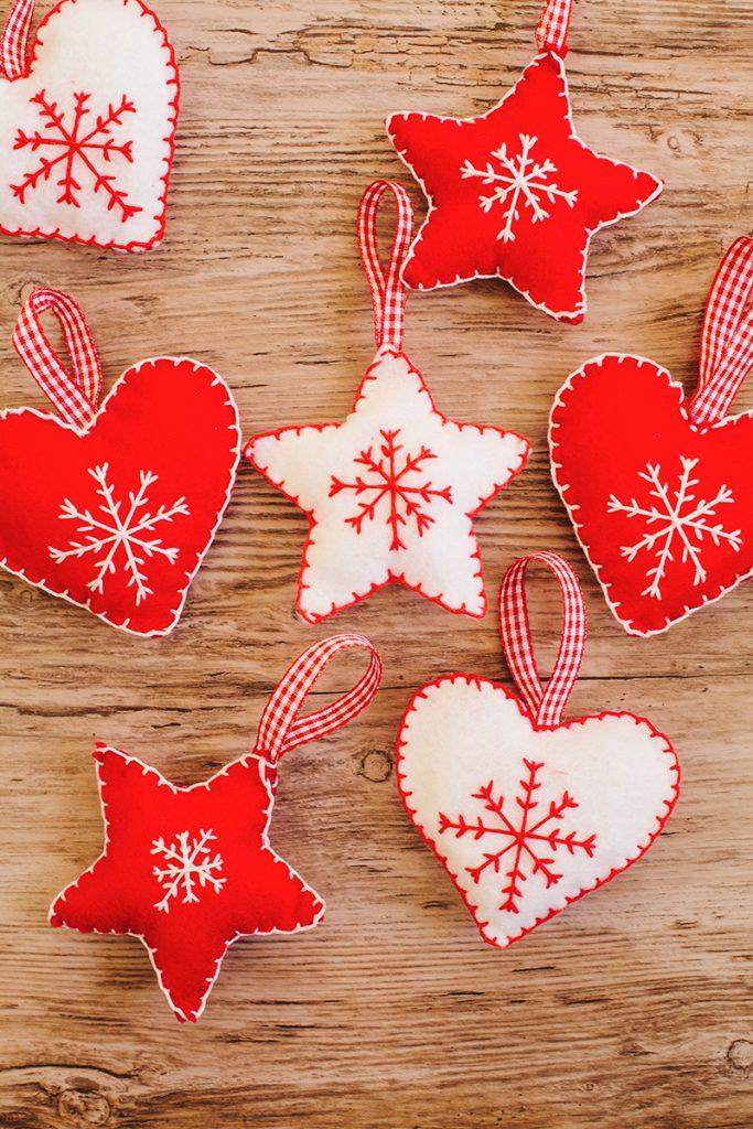 Diy Nordic Inspired Christmas Decorations Wallflower Girl