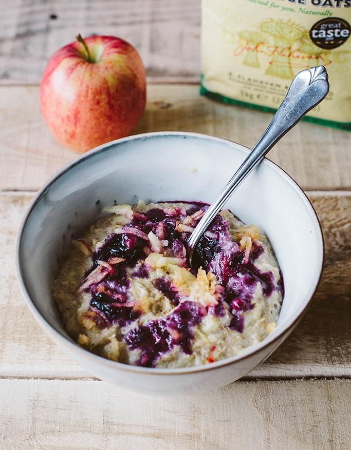 Flavahans Blackberry Apple Porridge