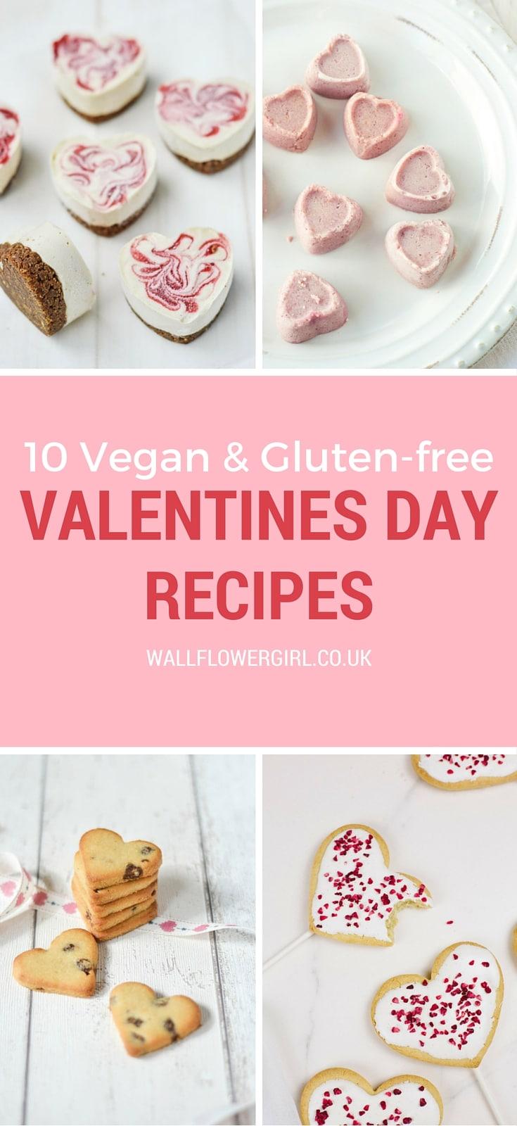 10 Vegan & Gluten-free Valentines Treats