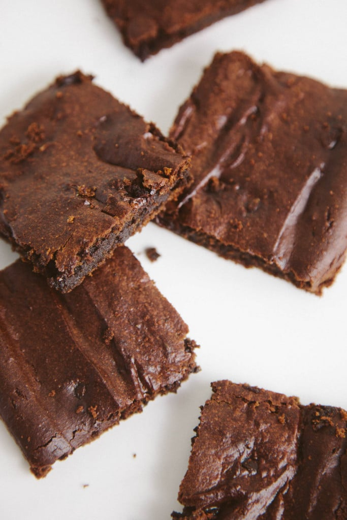 Chocolate Protein Powder Brownies