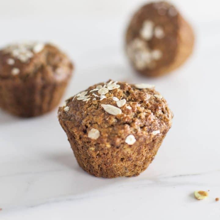 Multi-Seed Breakfast Porridge Muffins