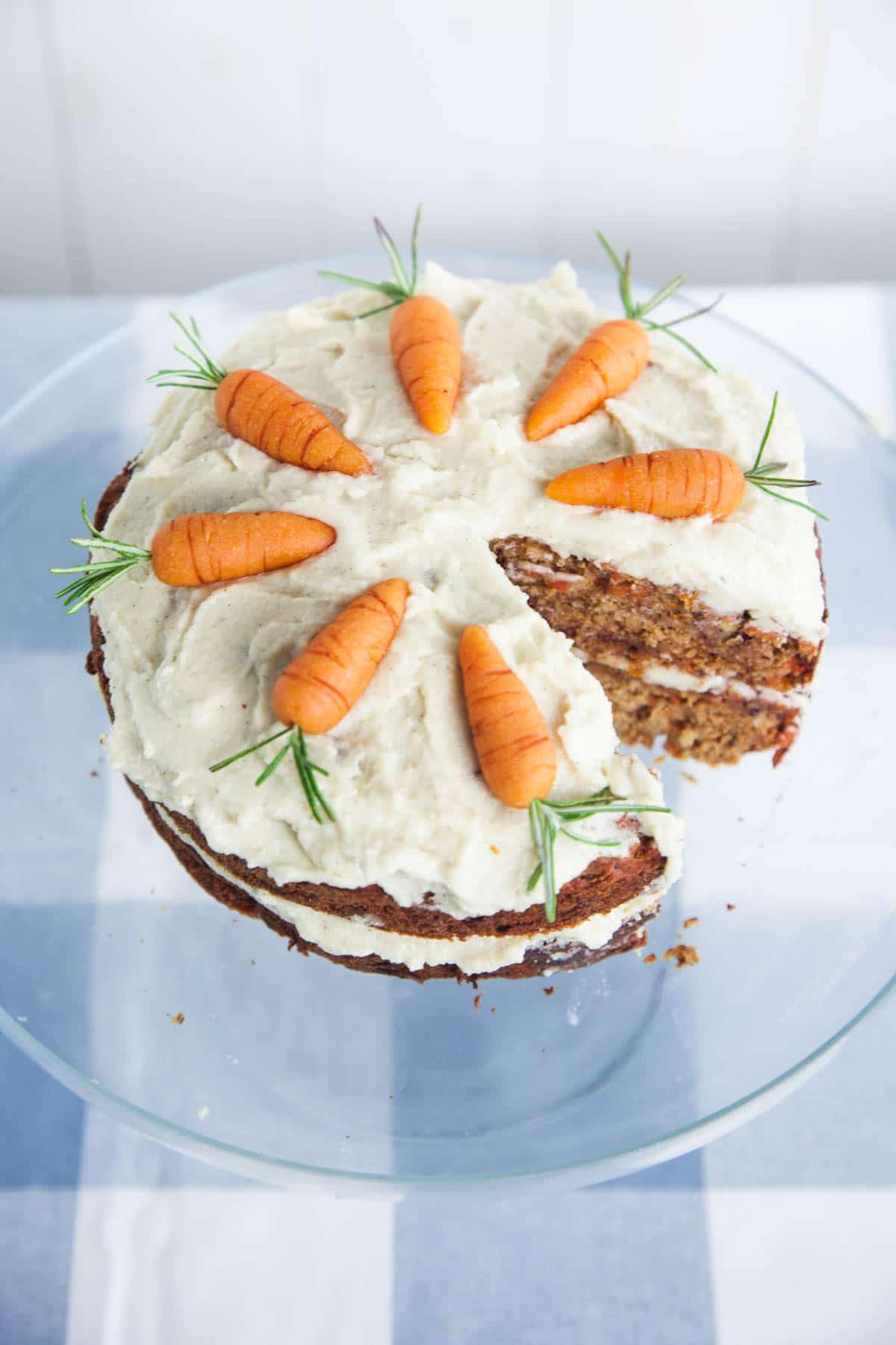 Vegan Carrot Cake Recipe Coconut Flour