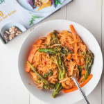 One-Pan Pasta Primavera from 'Plant-Based Cookbook' + Giveaway!