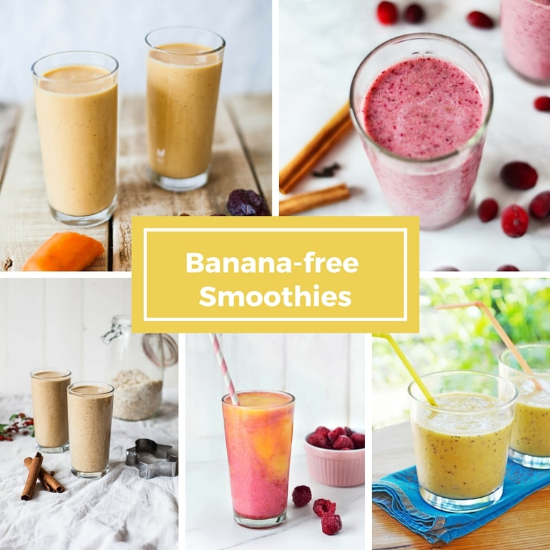 Banana-free Smoothies (Vegan)