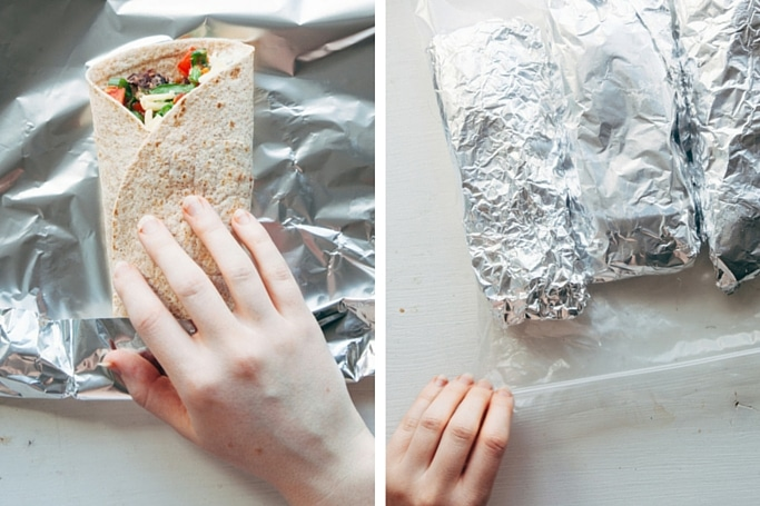 Freezer Burritos