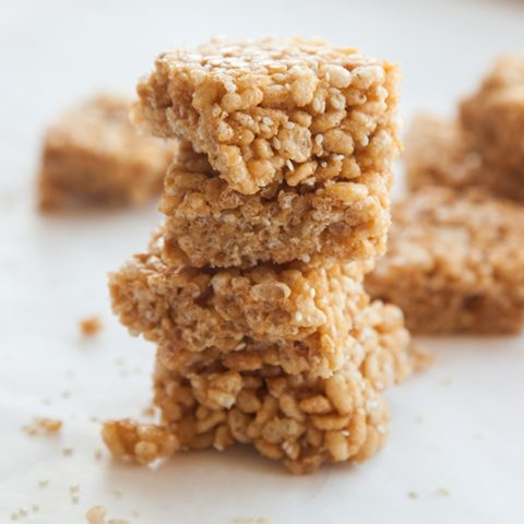 Sesame Seed Rice Krispie Treats