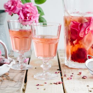 Rose and Strawberry Infused Water 5