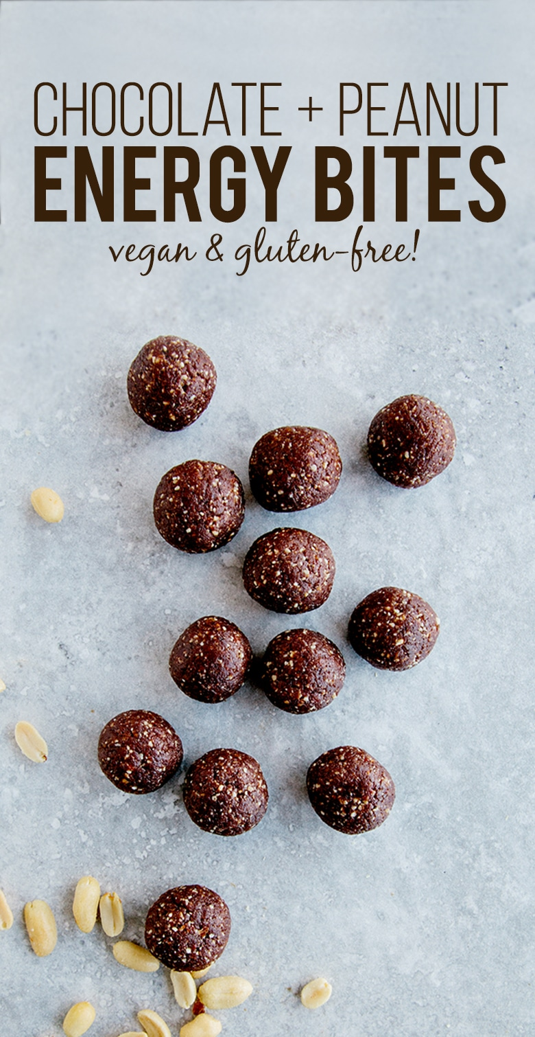 Chocolate Peanut Energy Bites