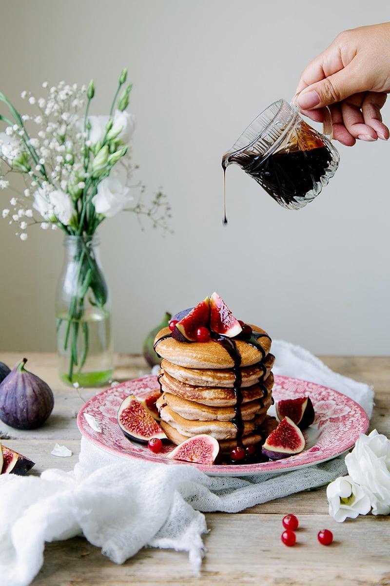 The Fluffiest Vegan Pancakes (Vegan Scotch Pancakes)
