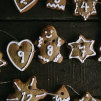 Gingerbread Advent Cookies (Vegan)