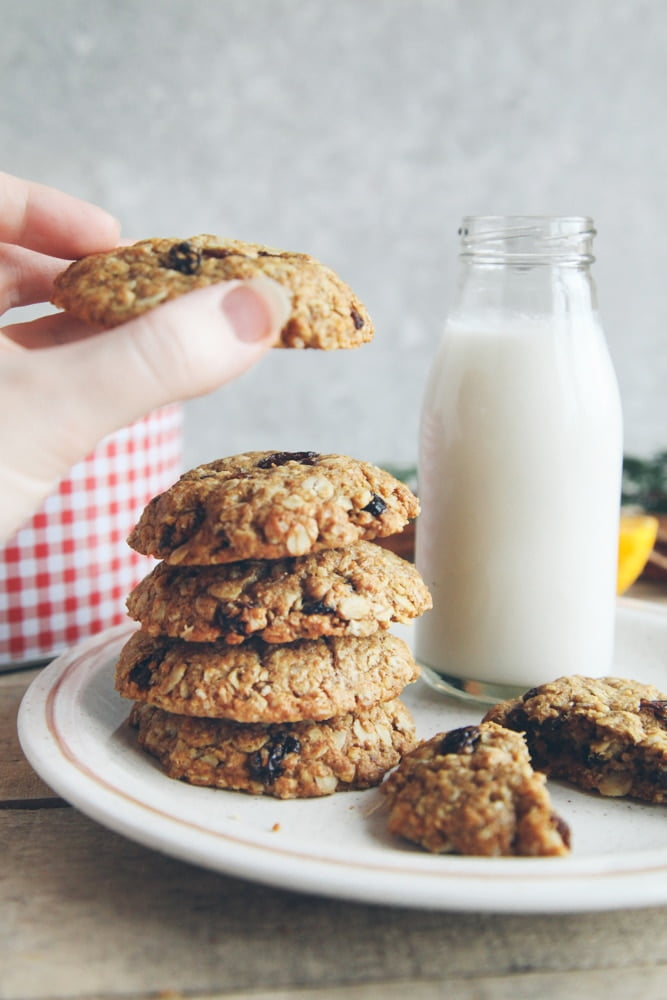 Spiced Orange Oatmeal Raisin Cookies from 'Bit of the Good Stuff' + Giveaway!