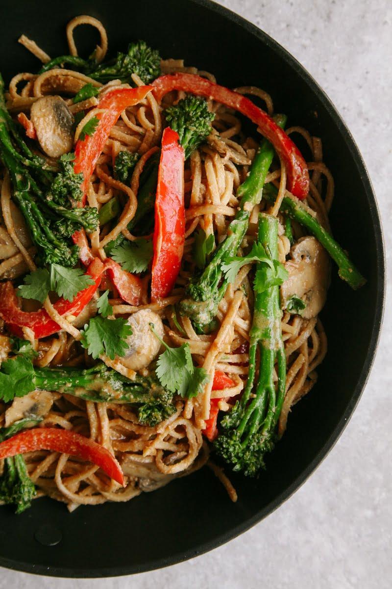 Spicy Tenderstem Noodle Stir Fry